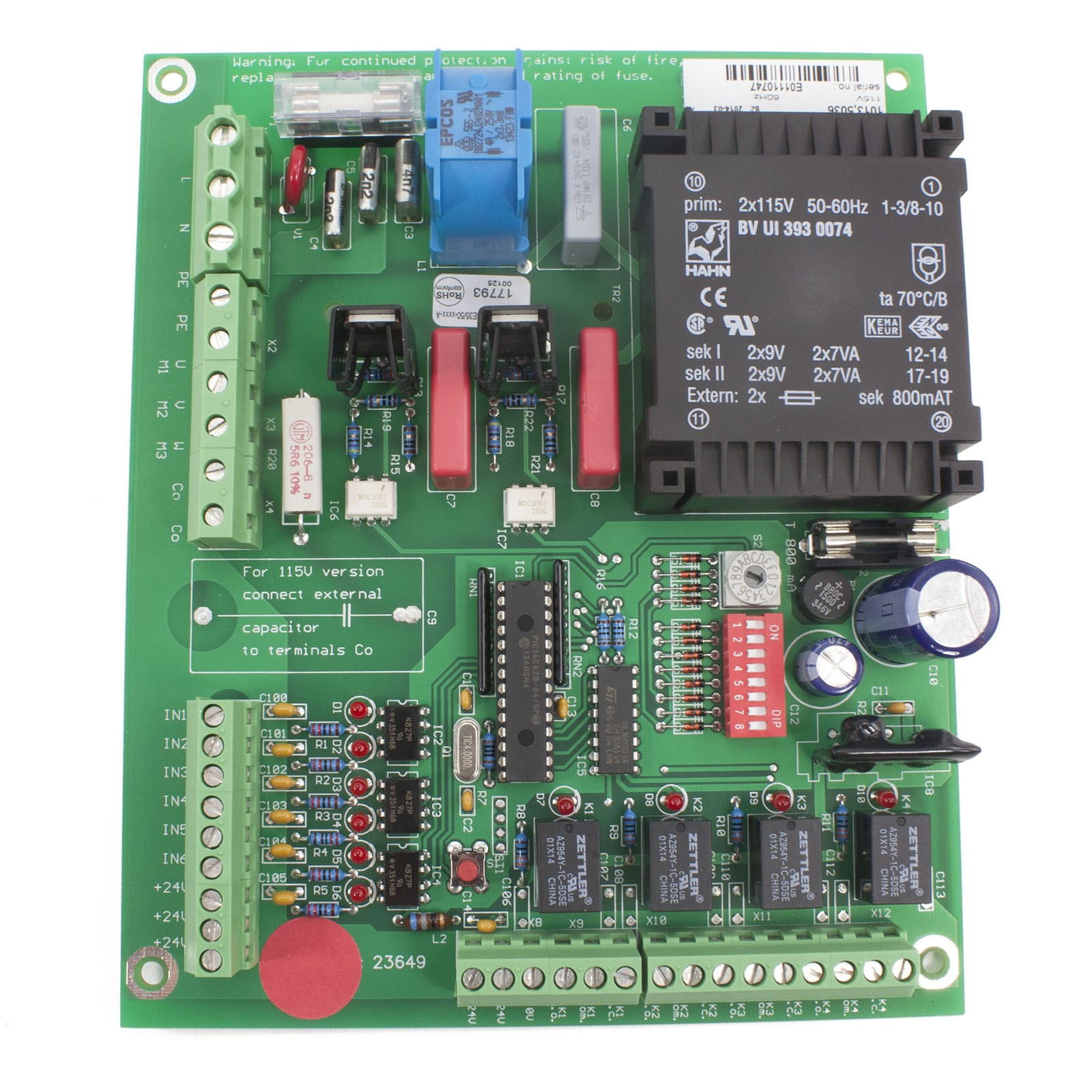 Single Board Controller For Mbe Magnetic Autocontrol