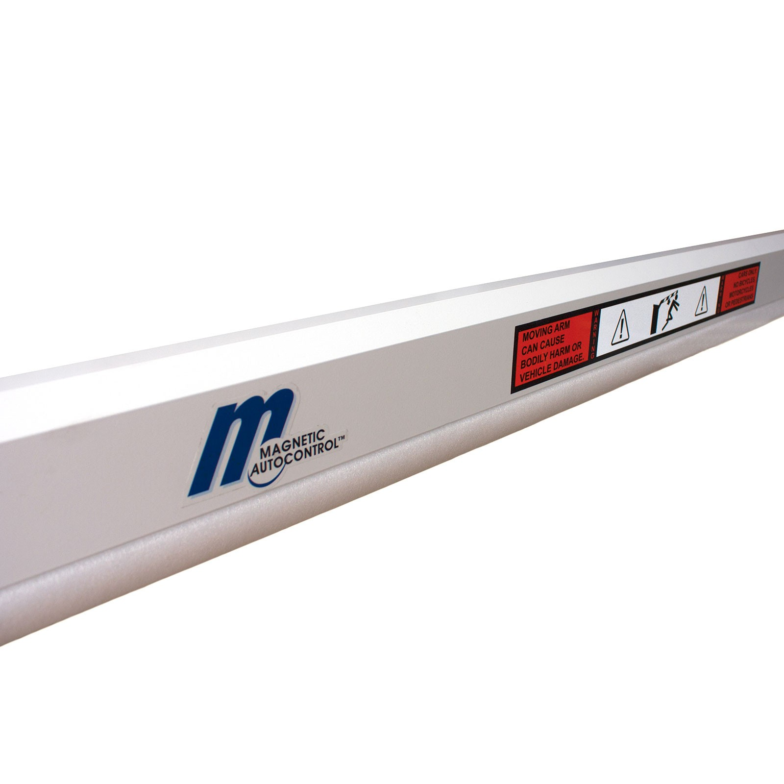 Magnetic Boom Arm : Magnetic autocontrol octagonal aluminum barrier arm for